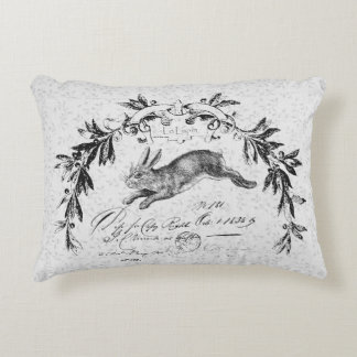 Le Lapin French Hare Accent Pillow