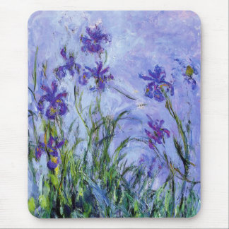 Le lilas de Monet irise le tapis de souris