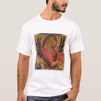 Le lion de St Mark (huile sur le panneau) T-shirt