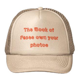 Le livre des visages possèdent vos photos casquette de camionneur