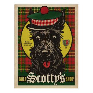 Le magasin de Scotty de golf Carte Postale