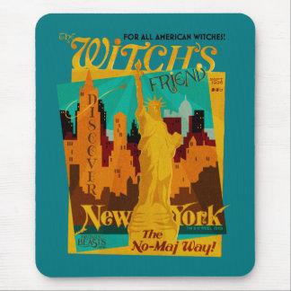 Le magazine de septembre de l'amie de la sorcière tapis de souris