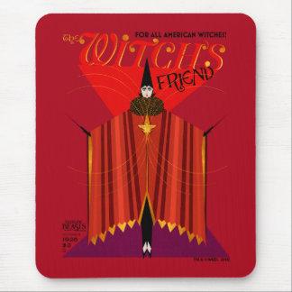 Le magazine d'octobre de l'amie de la sorcière tapis de souris
