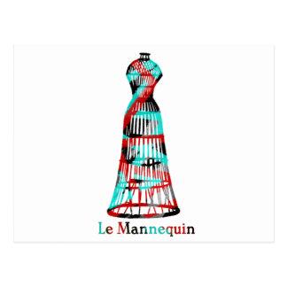 Le Mannequin Postcard