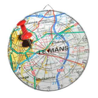 Le Mans, France Dartboard