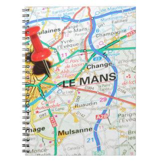 Le Mans, France Notebooks
