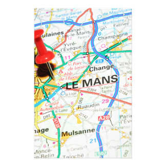 Le Mans, France Stationery
