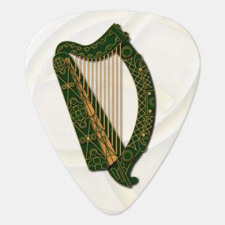 Le manteau d'Irland de l'harpe de bras - PIC de Onglet De Guitare