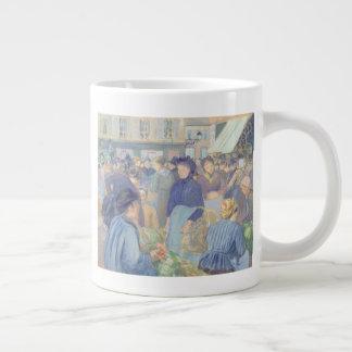 Le Marche de Gisors Large Coffee Mug