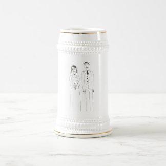 Le mariage classique mugs