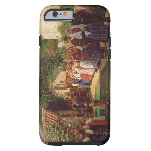 Le mariage d'or (huile sur la toile) coque iPhone 6 tough