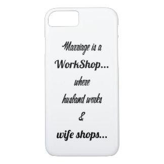 Le mariage est un atelier coque iPhone 7