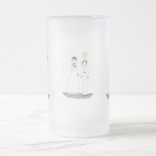 Le mariage irlandais de fluage mugs