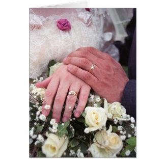 Le mariage remet #1 - carte de note