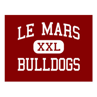 Le Mars - Bulldogs - Community - Le Mars Iowa Postcard