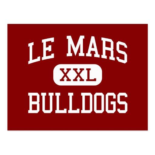 Le Mars - Bulldogs - Community - Le Mars Iowa Postcard