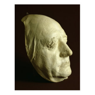 Le masque de Goethe, 1807 Carte Postale