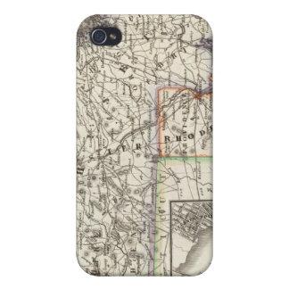 Le Massachusetts, Île de Rhode 2 Étui iPhone 4