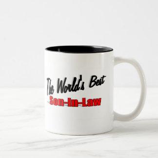 Le meilleur beau-fils du monde mugs à café