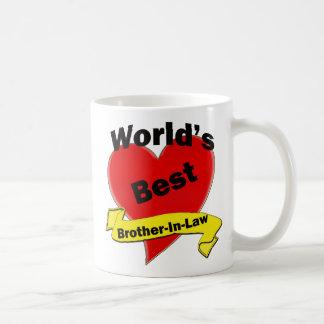 Le meilleur beau-frère du monde mugs à café