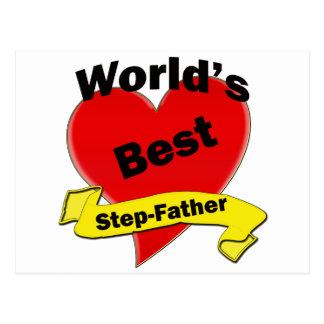Le meilleur beau-père du monde carte postale