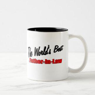 Le meilleur beau-père du monde mug bicolore