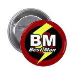 Le meilleur bouton d'homme badges