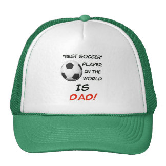 Le meilleur chapeau de footballeur de fête des pèr casquettes