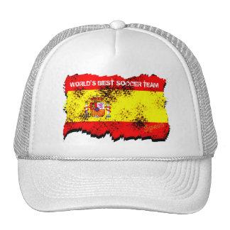 Le meilleur chapeau de l'Espagne d'équipe de footb Casquette De Camionneur