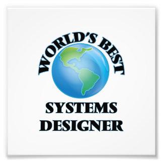 Le meilleur concepteur de systèmes du monde photo d'art