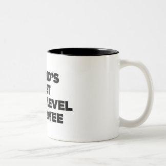 Le meilleur employé de niveau d'entrée du monde tasse à café