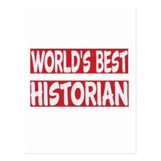 Le meilleur historien du monde cartes postales