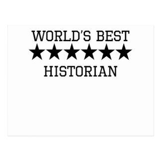 Le meilleur historien du monde carte postale