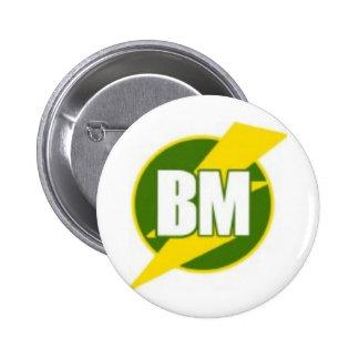 Le meilleur homme B/M Macaron Rond 5 Cm