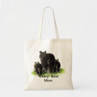 """Le meilleur humour de maman de """"Beary"""" avec les ou Sac En Toile Budget"""