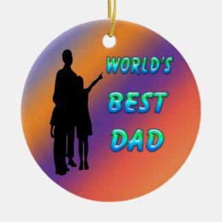 Le meilleur ornement du papa du monde