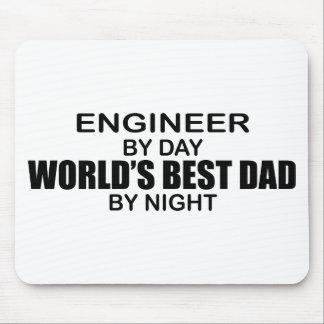 Le meilleur papa du monde - ingénieur tapis de souris