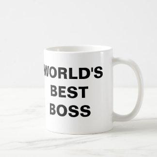 Le meilleur patron du monde tasses à café