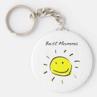 Le meilleur porte - clé de mamans porte-clé rond