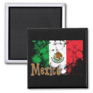 Le Mexique Magnet Carré