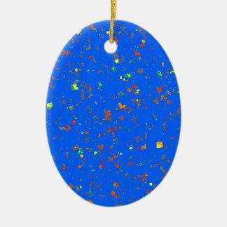 Le modèle bleu rêveur de Goodluck ajoutent l'image Ornement De Noël