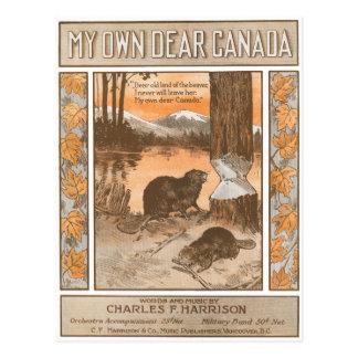 Le mon propre cher Canada Carte Postale