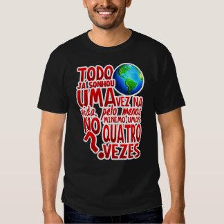 Le monde entier (Masculin/Noir) Tee Shirts