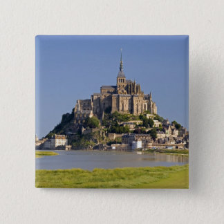 Le Mont Saint Michel in the region of 2 Inch Square Button