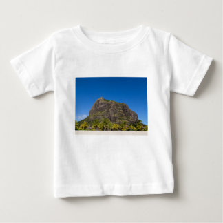Le Morne Brabant Mauritius with blue sky Baby T-Shirt