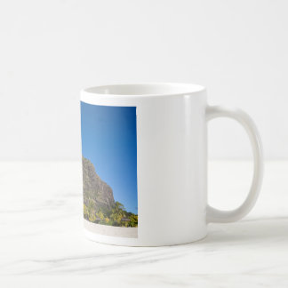 Le Morne Brabant Mauritius with blue sky Coffee Mug