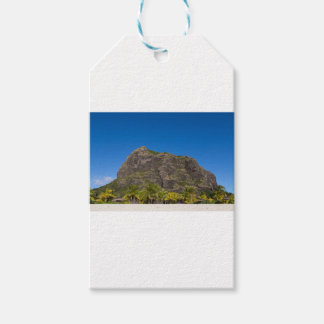 Le Morne Brabant Mauritius with blue sky Gift Tags