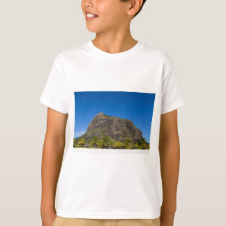 Le Morne Brabant Mauritius with blue sky T-Shirt