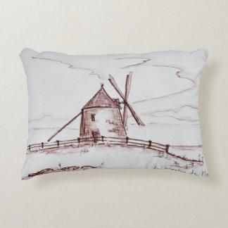 Le Moulin de Moidrey Windmill | Pontorson Accent Pillow