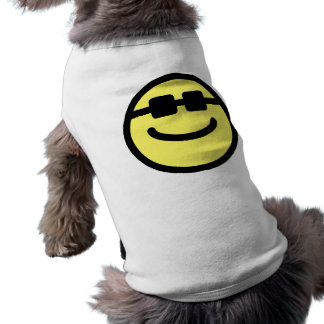 Le noir jaune de hanche ombrage le visage souriant manteaux pour toutous